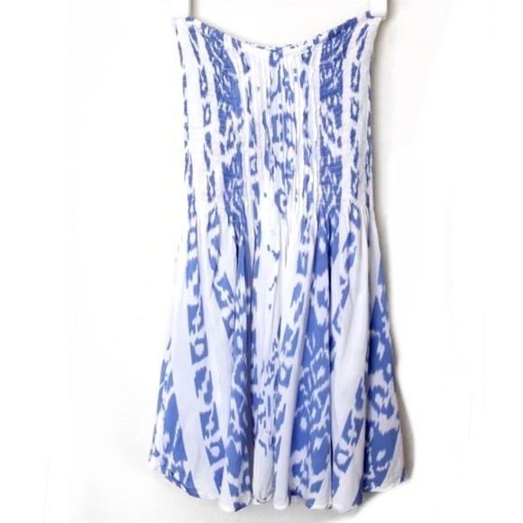 646cd0f020e5 Indah Dresses & Skirts - INDAH Wren Pleated Strapless Tube Mini Dress